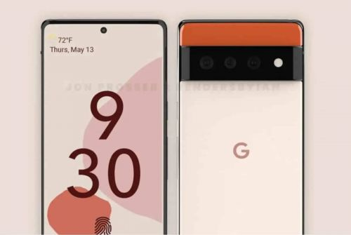 Google Pixel 6:  de supposés rendus montrent un design futuriste