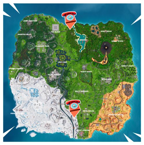 Fortnite: Where To Dial Durrr Burger Number On Big Telephone