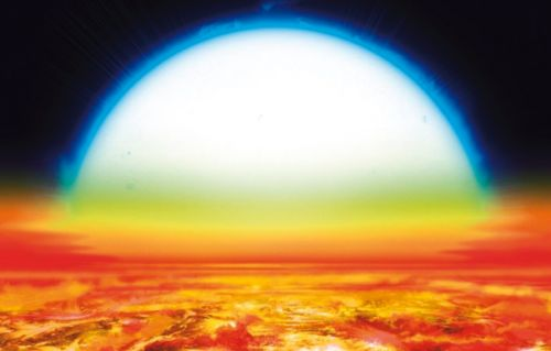 Astronomers spot an exoplanet so hot it has iron and titanium in its atmosphere