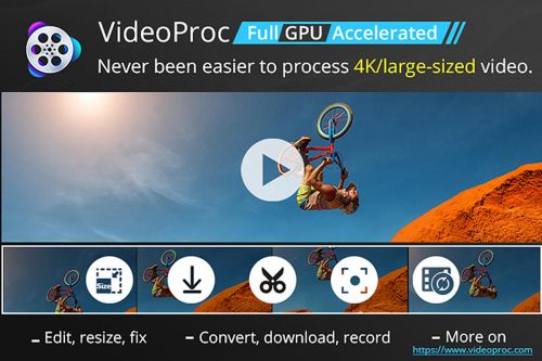 BrandPost: VideoProc facilitates 4K video processing on Mac with full GPU acceleration