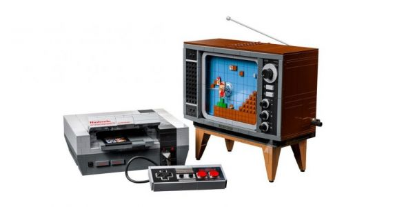 So help me, I need this LEGO NES and its playable Mario game