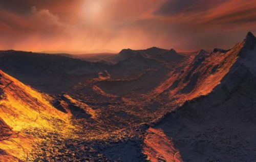Frozen Super-Earth discovered orbiting nearby Barnard's star