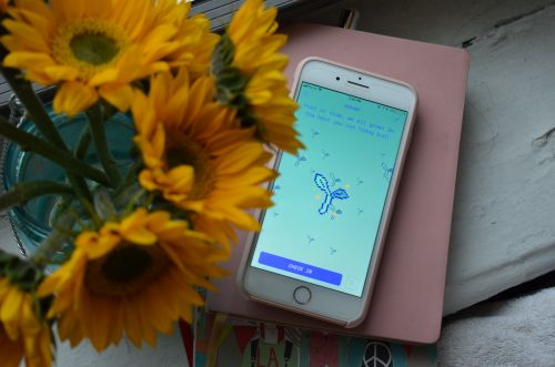 It's easy to get serious about self-care with the quirky, fun Aloe Bud app