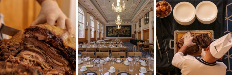 Have a carvery lunch in the Butchers Hall