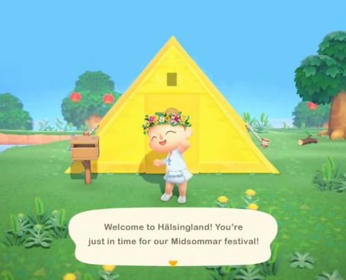 Animal Crossing: New Horizons Fans Recreate Midsommar and More