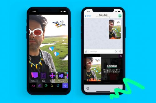 Giphy launched a keyboard extension and sticker maker for iOS 12 users
