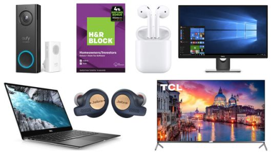 ET Deals: H&R Block Deluxe + State only $20, $969 off Dell XPS 13 w/ 4K Display and 2TB SSD, $40 off Jabra Elite Active 65t