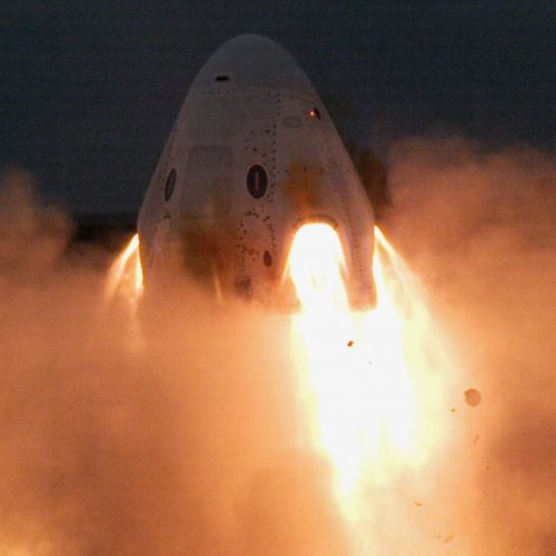 SpaceX Successfully Test-fires Crew Dragon's Abort Systems