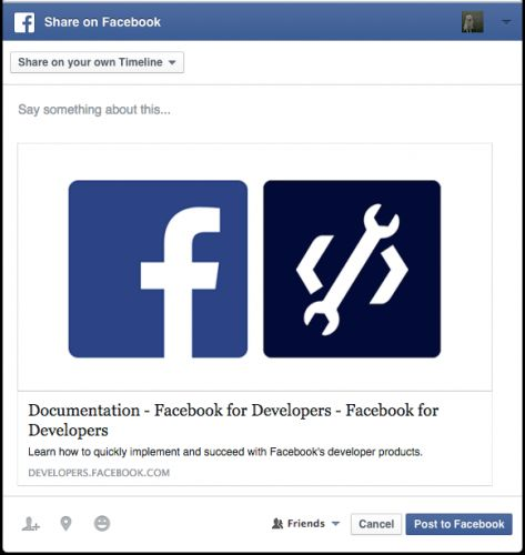 Facebook shuts down custom feed sharing prompts and 12 other APIs