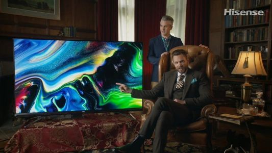 Joel McHale namedrops Android Central while announcing new Hisense TVs