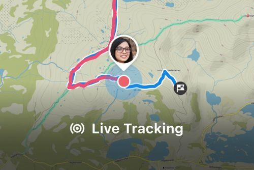 Komoot adds live tracking to help loved ones keep track of your outdoor adventures