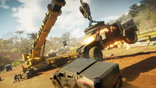 Just Cause 4 Is Full Of Hilarious Chaos, Thanks To Rockets, Balloons, and Lightning Guns
