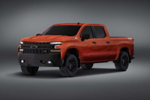 Chevy made a life-size Silverado pickup with Lego bricks