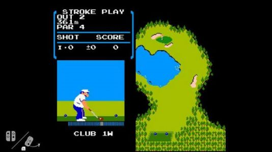 NES Golf hidden within Switch's firmware