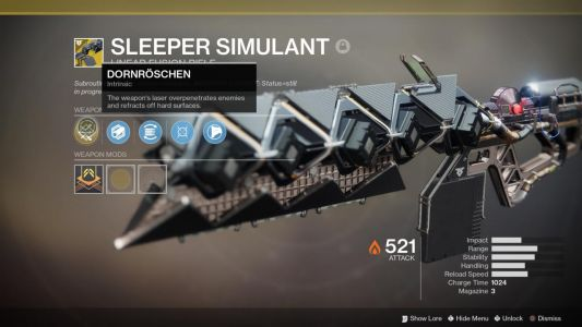 Bungie Plans To Nerf Destiny 2: Forsaken's Overpowered Sleeper Simulant
