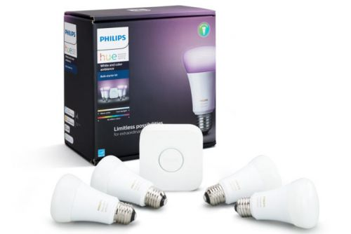 Make your bulbs brighter with $30 off the Philips Hue White Ambiance starter kit