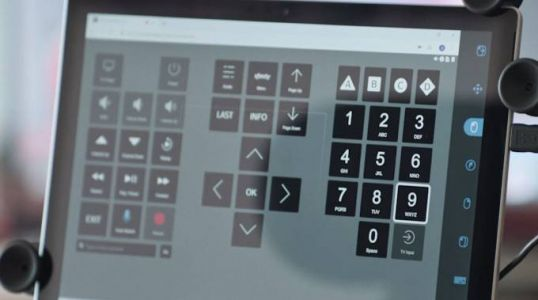 Comcast's eye tracking remote makes cable TV more accessible