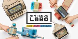 Nintendo Labo Lets You Make Cardboard Attachments for Switch