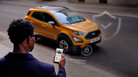 Ford cars will alert owners via smartphone messages if they are being stolen