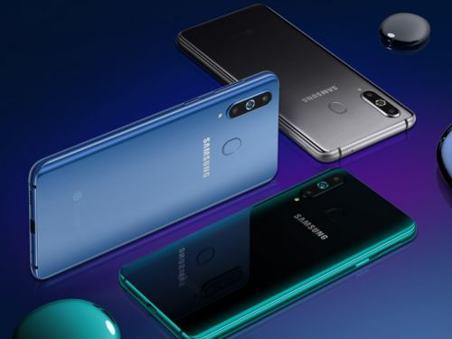 The Galaxy A8s is Samsung's first phone with a hole-punch notch