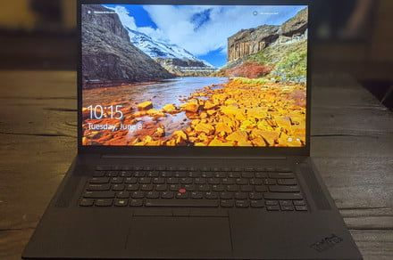 Lenovo's new ThinkPad P1 Gen 4 comes with a 1080p webcam, RTX 3080 graphics