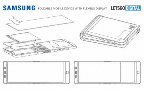 Samsung Galaxy Fold 2 could be a RAZR-like clamshell