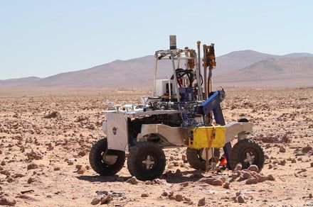NASA develops autonomous drill to search for life beneath the surface of Mars