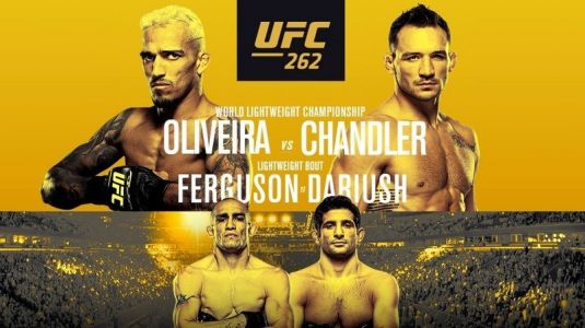 UFC 262 live stream: How to watch Oliveira vs Chandler right now