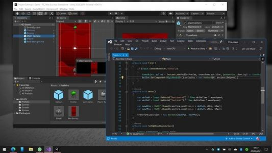 I'm learning how to make Xbox and PC games, and you can too