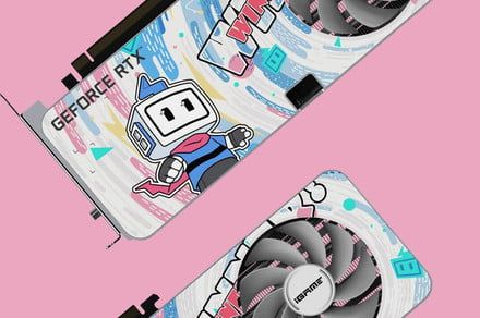 This limited-edition RTX 3060 is the cutest graphics card ever made