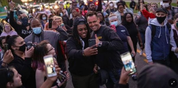 Michigan Sheriff Marched, Alongside with Protesters, NBA Super Stars Voice Their Anger and Frustration Towards George Floyd's Death
