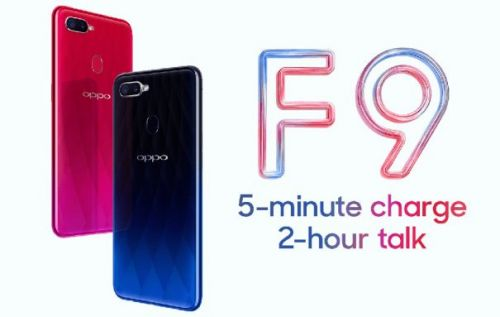 OPPO F9 brings the tiniest notch to the masses