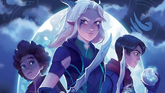 Review: THE DRAGON PRINCE: BOOK ONE: MOON Provides Some New Insights to the Characters of the Show