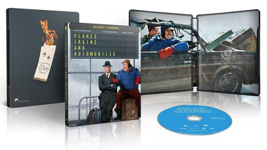 'Planes, Trains And Automobiles' Blu-ray Steelbook Arriving for Thanksgiving