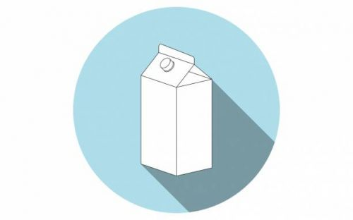 Milk carton of the future shows exact expiration with QR code
