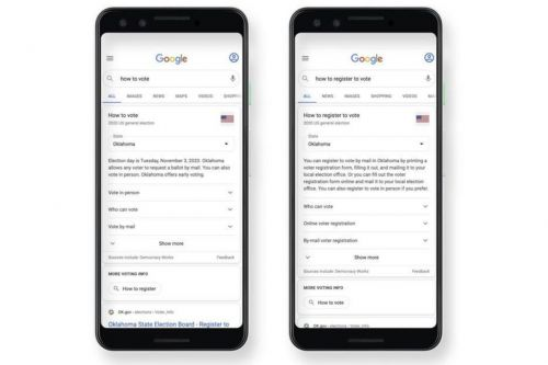 You can type 'how to vote' into Google now for instant state-by-state voting instructions