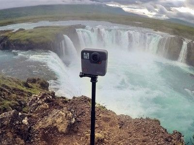 Capture everything around you with the $474 GoPro Fusion 360-degree camera