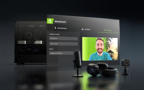 NVIDIA Broadcast makes your room look and sound like a pro studio