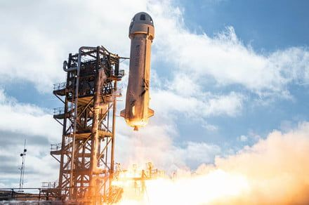 Blue Origin names the date for its first-ever space tourism flight
