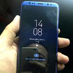 New images of purported working Galaxy S8 with colorful screen protectors pop up