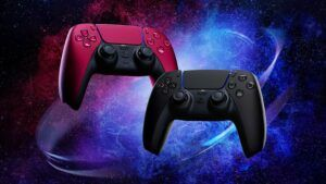 'Midnight Black' and 'Cosmic Red' PS5 DualSense controllers coming in June