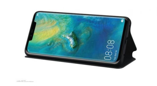 Huawei Mate 20 Pro high quality renders leak from case maker
