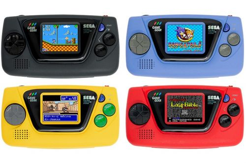 Sega's Game Gear Micro is four $50 consoles with four games each