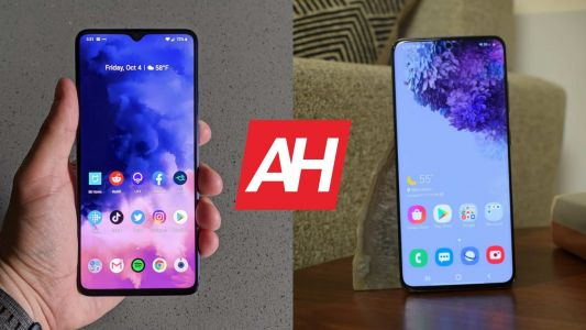 Phone Comparisons: OnePlus 7T vs Samsung Galaxy S20