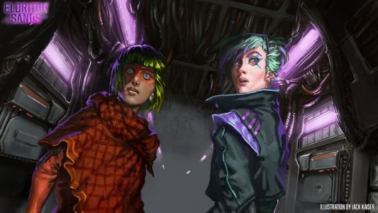 ELDRITCH SANDS Launches Kickstarter for Sci-Fi and Horror-Inspired RPG