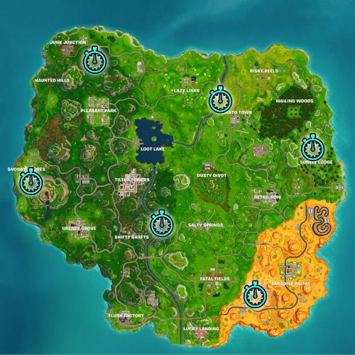 Fortnite Week 6 Challenge: How To Complete Timed Trials