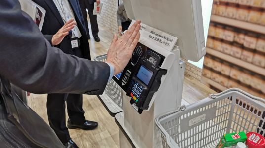 Why paying with your palm could be the new way to shop