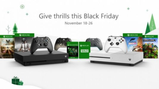 Microsoft Reveals Slate of Black Friday Xbox One, PC, and Tech Deals