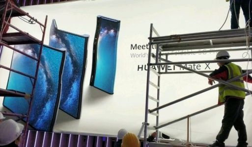 Foldable 'Huawei Mate X' with 5G leaked ahead of MWC 2019