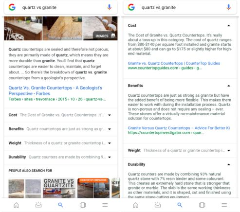 Google just made some great changes to its search results page